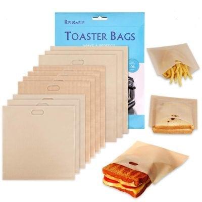 Non-Stick Reusable Toaster Bags