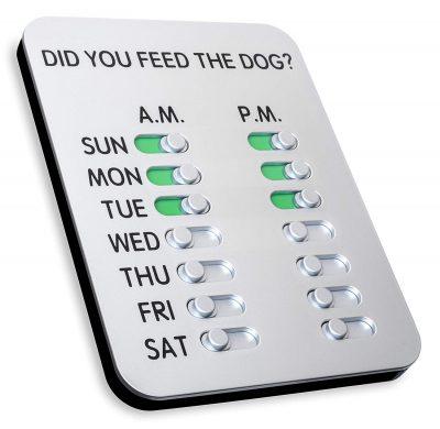 pet feeding chart