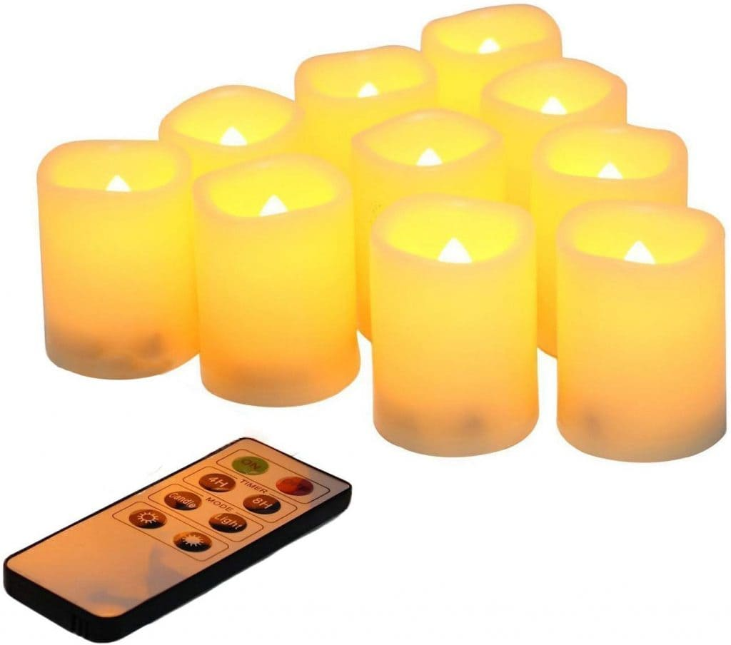 remote controlled candles automation