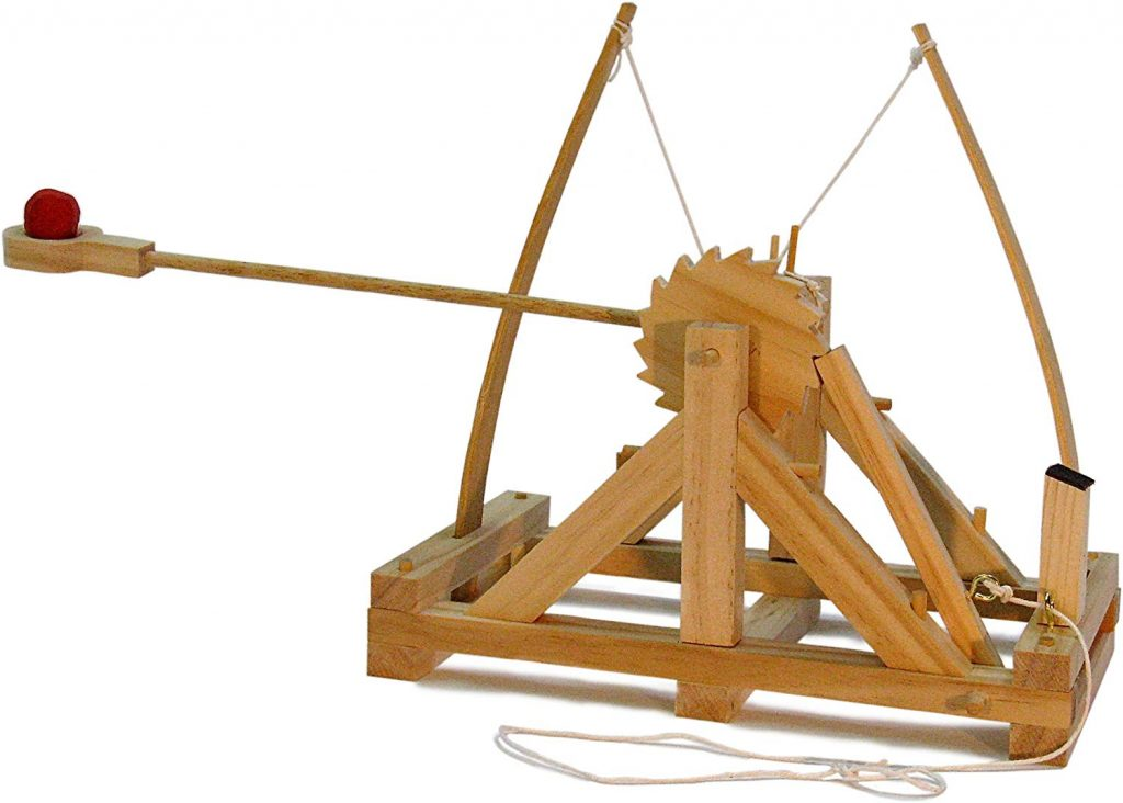 automatic catapult christmas gift